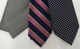 【ファッション】国産ネクタイ3本コース