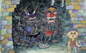 <5万円コース>完成した絵本にご支援者のお名前記載