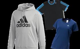 adidas人気商品!ライトスウェットパーカーorTシャツをプレゼント!【10,000円コース】