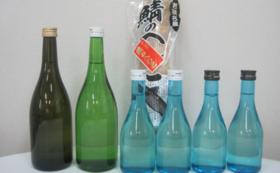 【福井県外の方限定】日本酒(オリジナルラベルのフルセット)とおつまみコース
