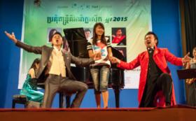 一緒にCatch A Cambodian Starを開催!(演奏者の活動レポート付き)