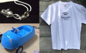 ミニカー、Tシャツ、ペンダントトッププレゼントコース