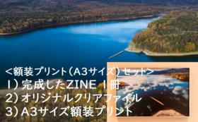 <額装プリントA3サイズセット>
