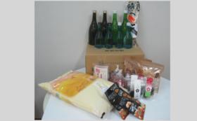 【福井県外の方限定】全力応援コース 日本酒、ごはん、水、おつまみ、スイーツセット