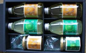 【食品】サルナシ・ホオズキのジュース、ジャムのセット
