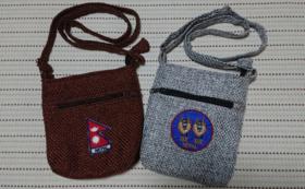 ネパール人の手作りポーチ