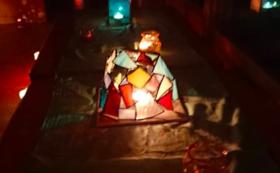 ステンドグラス(ライトカバー)