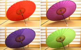 【和傘をさす姿が一番の広告塔】蛇の目傘&ロクロ