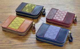 革×畳縁コラボ 「ラウンドファスナーミニ財布」