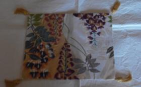 手織り布の敷物コース