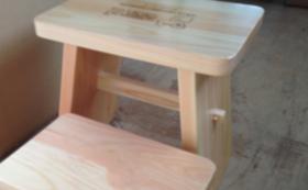 2)東濃桧の開運風呂椅子応援コース