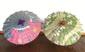 【ちょっと飾りたい】ミニ和傘&ロクロ