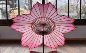 【心惹かれる美しさ】桜和傘&ロクロ