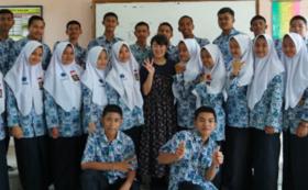 インドネシアの生徒たちから、あなたへの感謝のメッセージをお届けします!