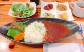 +Green Café+で食べて応援!カレーランチお食事回数券コース