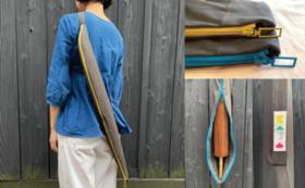【和傘を気軽に持ち歩こう】和傘CASAオリジナル携帯用傘袋&ロクロ