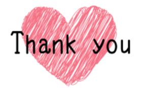 手書き感謝状