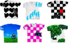 猿の絵柄のTシャツとハンカチをプレゼント!