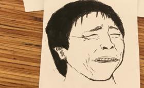 あなたの似顔絵描かせていただきます