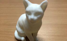 【グッズ】3Dプリンター制作物<猫>プレゼント