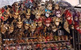 職人の作る伝統的な仮面を手に入れましょう!
