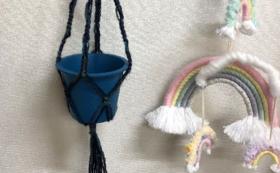 お礼のメールと🌈レインボー雑貨もしくはマクラメ(織物)