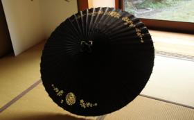 【コレクターズアイテム!】切り抜き模様入り蛇の目傘