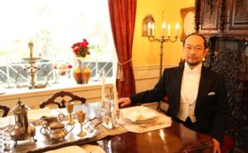 一流レストランでの福井敬さんとの贅沢なひととき