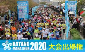 交野マラソン2020大会出場権+Ready for 限定色 オリジナルTシャツ