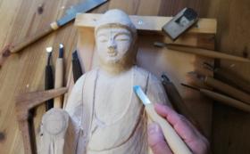 【仏像彫刻 土御門仏所】彫刻体験 3月21日(土)14〜17時