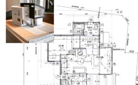タンポポデザインによる住宅プラン+模型