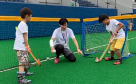 【企業向け】日本リーグに参加するメトロ選手によるホッケー特別教室の参加
