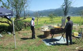【長野県小布施町】収穫祭(BBQ)にご招待