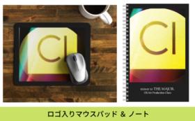 OS Art Production Clara ロゴ入りマウスパッド&ノート