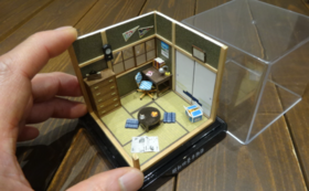 G.手のひらドールハウス「昭和四畳半物語」と、立体間取り作品集「妄想建築」初版