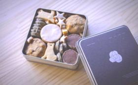 【遠方の方・地域の方々にオススメ!】 クッキー缶+ムービーエンドロールにお名前記載