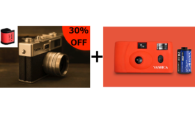 30%OFF YASHICA MF-1とYASHICA Y35 digiFilm200のセット