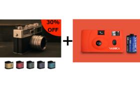 30%OFF YASHICA MF-1とYASHICA Y35 digiFilm5本のセット