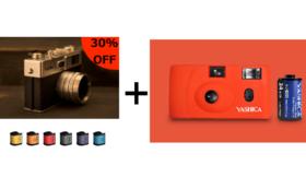 30%OFF YASHICA MF-1とYASHICA Y35 digiFilm6本のセット