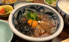 【堪能プランその2】白寿真鯛の「鯛めしセット(約3人前)」