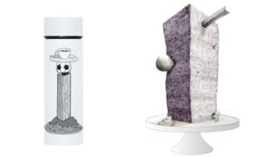 【先着限定】towerを食べる:限定特製ケーキ&ステンレスミニボトル