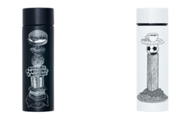 【人気】towerを携える:限定ステンレスミニボトル