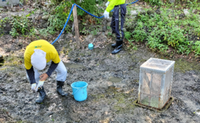【地域の方・他校先生方推奨コース】「ほたる池復活プロジェクト」参画