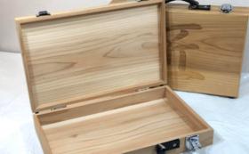 木製アタッシュケース