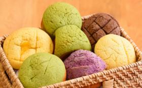 絶品メロンパン複数&新作古墳型メロンパンを食べて応援!