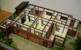 K.立体間取り作品完成品「平屋の日本家屋」と、立体間取り作品集「妄想建築」初版