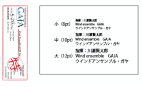 【GOLDサポーターコース】プログラム記載、優待エリアチケット、CDなど