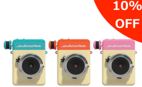フィルム付属ですぐに使える 10%OFF Escura Instant camera 60s 1台
