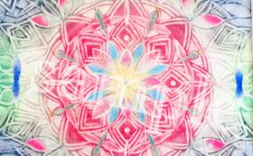 <華曼荼羅絵画コース>原画をお送りいたします。