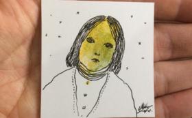 【ご来場の方限定】あなたの指紋画、描かせていただきます+絵本『色を歩く』